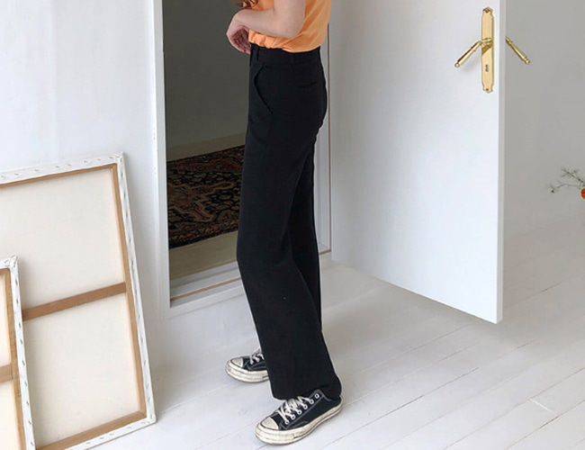 [made] long boots slacks (3color)