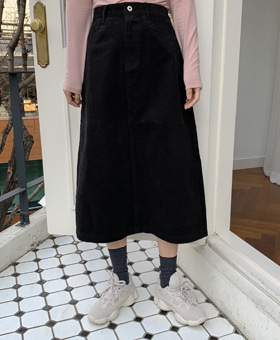 첫눈에 skirt (2color)